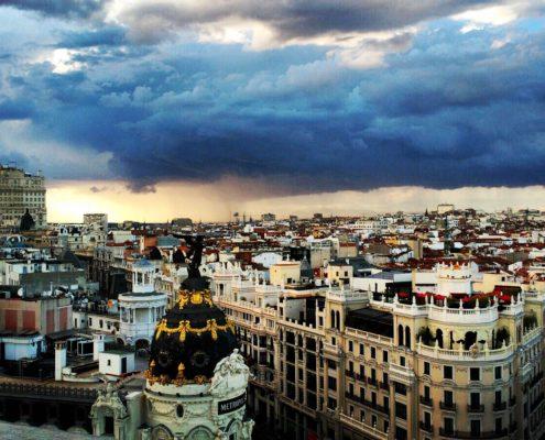 Meilleurs endroits photos Madrid Terrasse Circulo de Bellas Artes