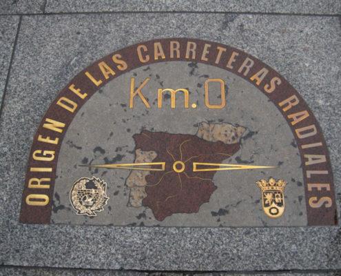 KM 0 - Puerta del sol Madrid