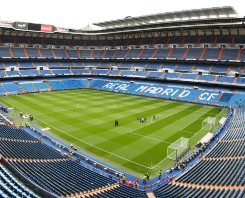 Stade de foot du Real Madrid - DESTINATION MADRID