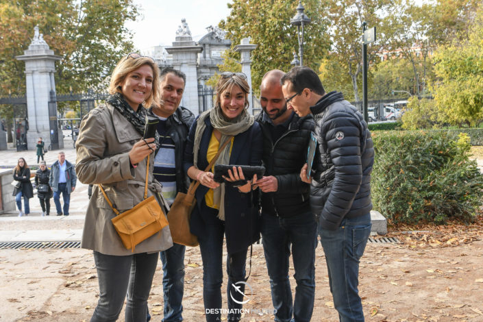 Escape game au Retiro Madrid- DESTINATION MADRID