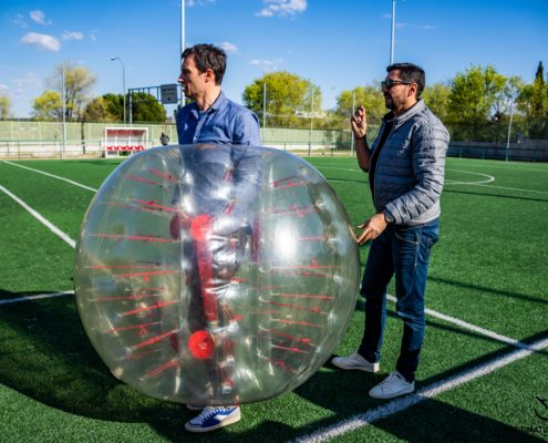 Team Building Bubble Football - DESTINATION MADRID