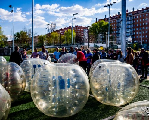 Bubble Football Madrid - DESTINATION MADRID