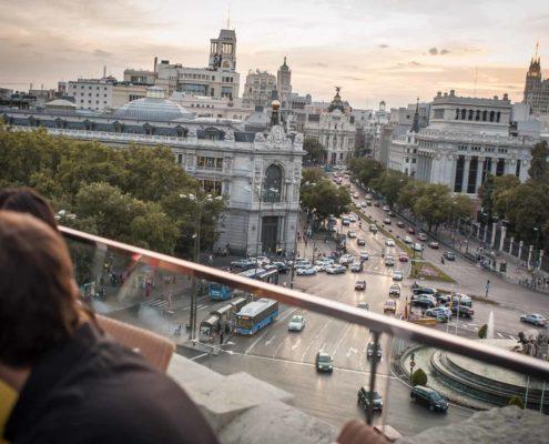 Cibeles rooftop Madrid