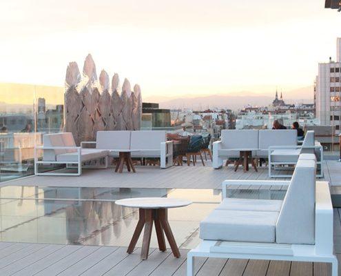meilleurs rooftops de Madrid