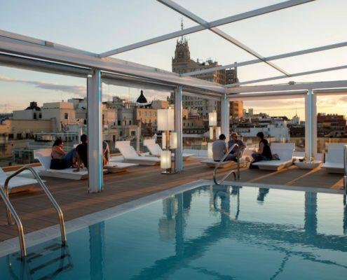 Hotel oscar rooftop Madrid