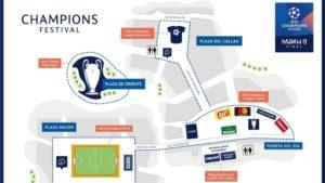 plan UEFA champions league finale destination madrid