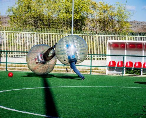 Fútbol burbuja - team building