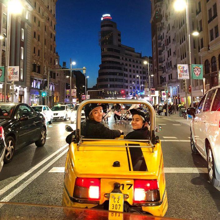 Visite guidée en voiturette Madrid- DESTINATION MADRID