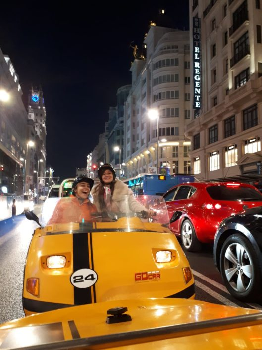 voiturette MADRID - DESTINATION MADRID