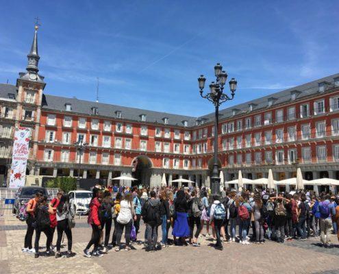 voyage scolaire à Madrid - DESTINATION MADRID
