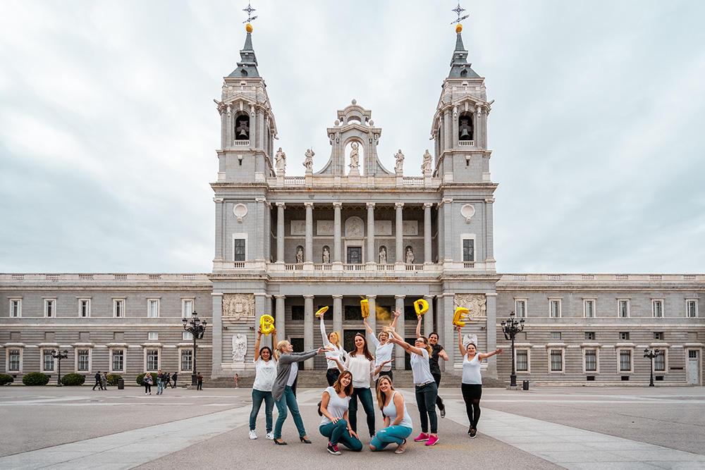 Enterrement de vie de jeune fille Madrid- DESTINATION MADRID