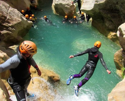 CANYONING MADRID - DESTINATION MADRID