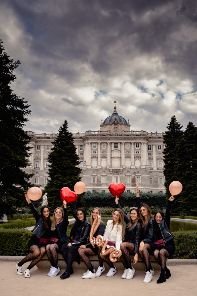 EVJF Madrid - Shooting photo - DESTINATION MADRID