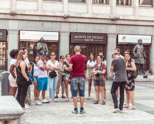 Visite guidée de Madrid - Barrio de las Letras - DESTINATION MADRID