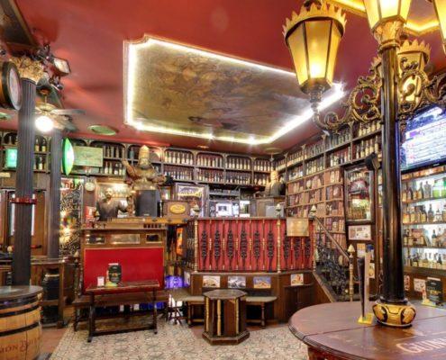 Bar sportif à Madrid