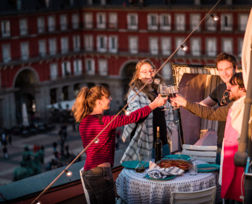Activités Enterrement de vie de jeune fille - apéritif privé - DESTINATION MADRID