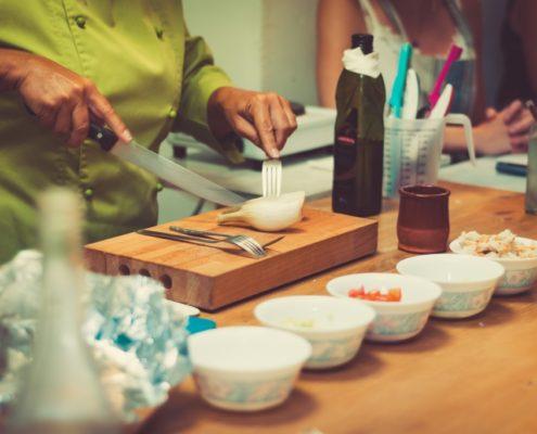 Activités enterrement vie de jeune fille - cours cuisine - DESTINATION MADRID