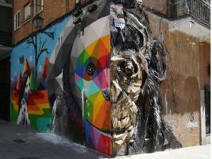 visite guidée street art quartier Lavapiés -DESTINATION MADRID