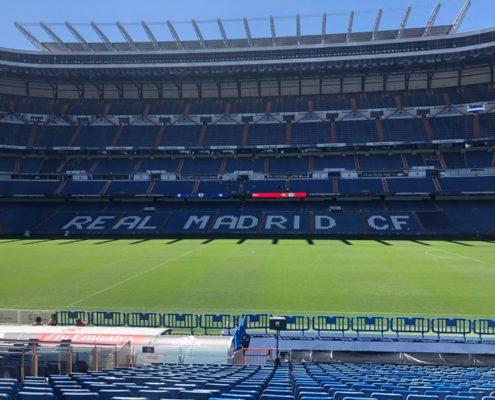 visite stade BERNABEAU DESTINATION MADRID