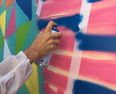 Atelier de street art Madrid