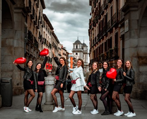 Shooting photo EVJF Madrid