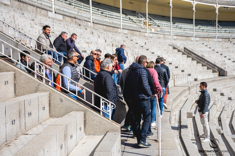 Visite des arenes de Madrid - DESTINATION MADRID
