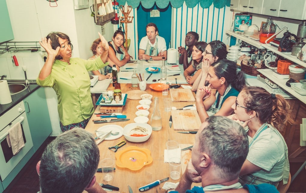 Cours de cuisine Madrid team building