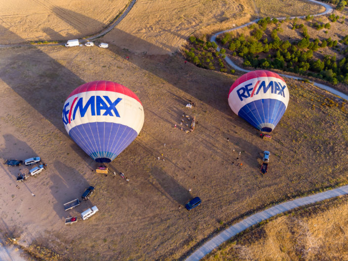Activité insolite Madrid - Tour en montgolfière