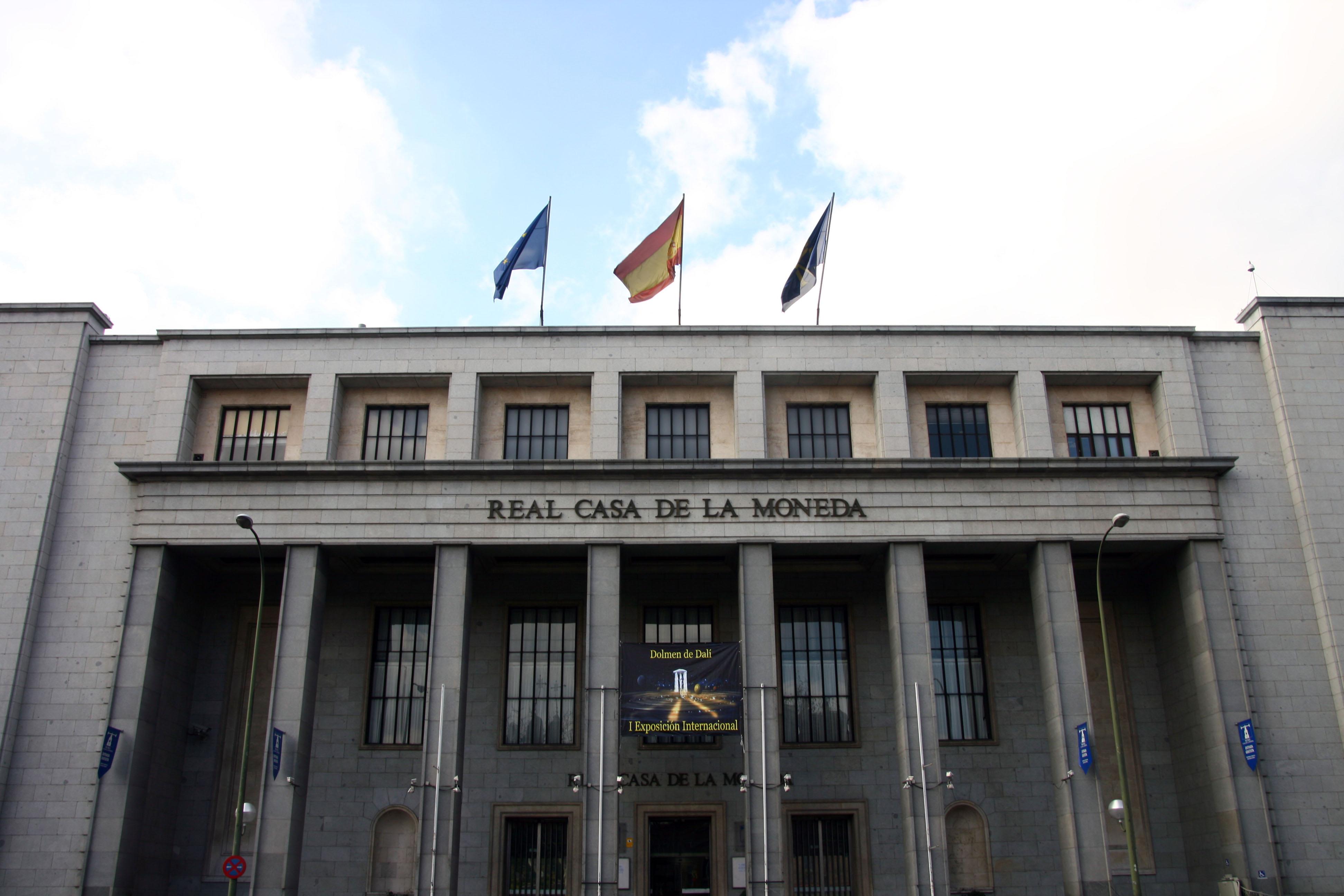 Casa de Papel - fabrique de la monnaie et du timbre