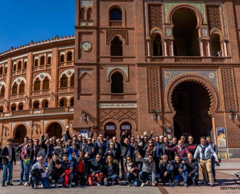Visite arène de Madrid