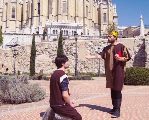 Visite guidée théâtrale Madrid