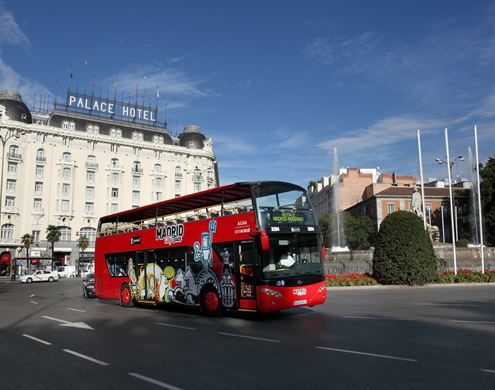 Visite de Madrid en bus