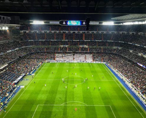 Match du real Madrid santiago Bernabeu