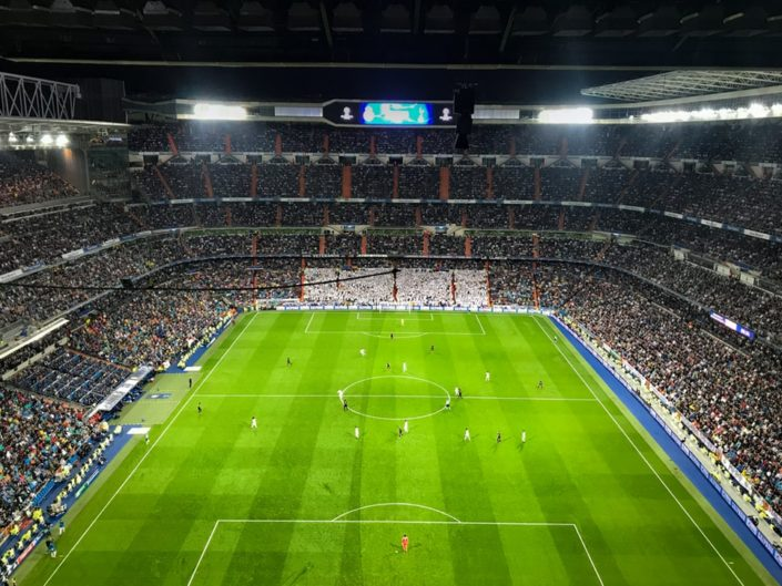 Match du real Madrid santiago Bernabeu