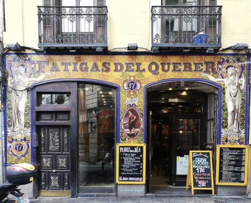 Restaurants Madrid - Fatigas del Querer