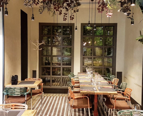 restaurants Madrid - Charca