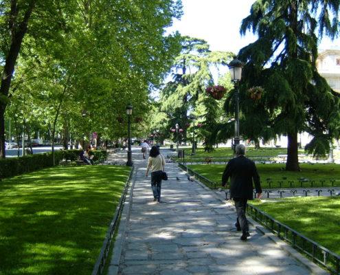 Paseo del Prado visite guidée