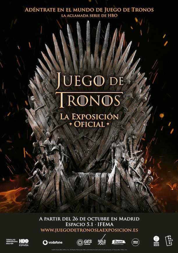 Juegos de tronos - bons plans Madrid