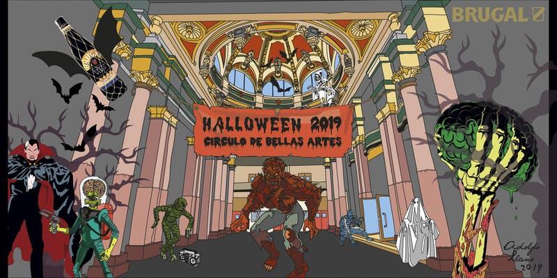 Circulo Bellas Artes Halloween