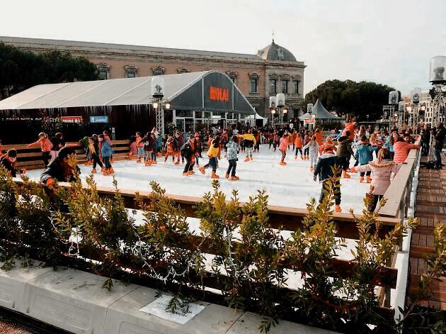 Pista de hielo patinoire