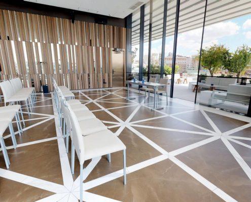 Salla de Réunion - Ginkgo Sky Bar