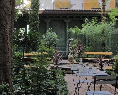 Jardin du musée du Romantisme