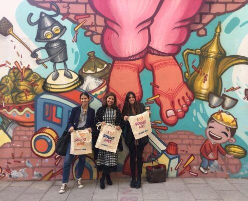Atelier de street art à Madrid
